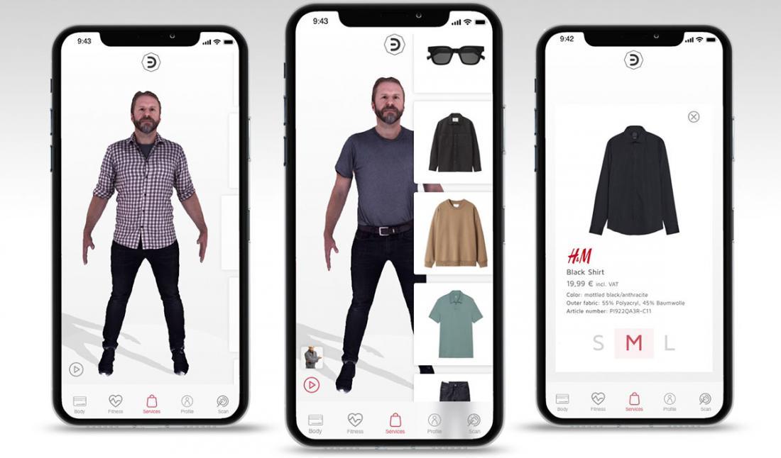 В H&M откроют виртуальные примерочные
